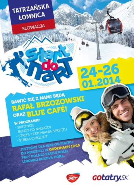 Start do Nart 24-26.01.2014 Tatrzanska Lomnica_plakat - Kopia